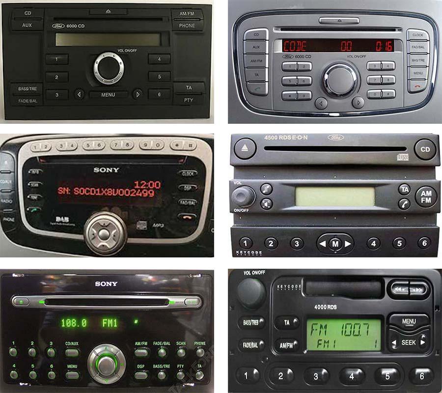 Ford Radio Code Free Instant Unlock